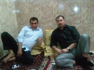 David Rivas Huete reunión en Iraq