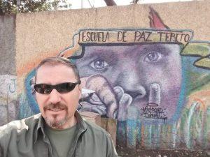 David Rivas Huete in Tepito Mexico